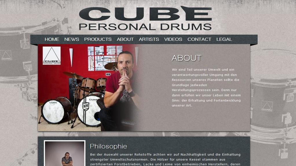 Freunde Cube Personal Drums